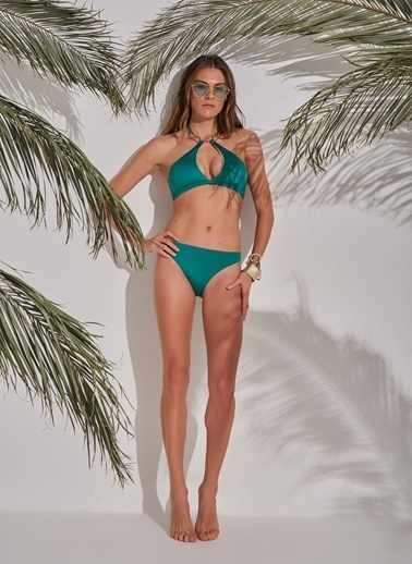 Morhipo Beach Aksesuar Detaylı Bikini Yeşil